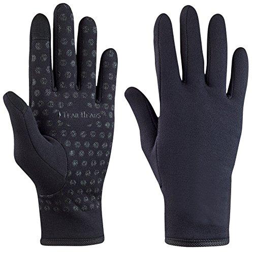 51Eh8RuTviL. SS500  - TrailHeads Women's Running Gloves   Touchscreen Gloves   Power Stretch Winter Running Accessories - black