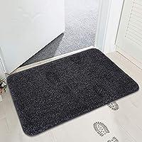 mayshine Non-slip Doormat Cotton Door Mat Mud Dirt Trapper Mats Shoes Scraper Floor Indoor- 45x75 cm