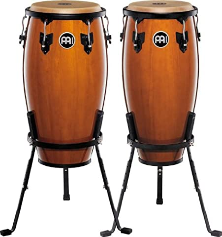 Meinl Percussion Headliner Series HC555NT Pair of congas inch Wooden 10 and 11 cm (11