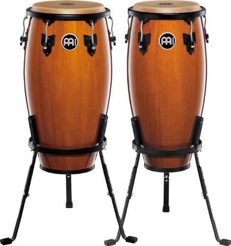Meinl Percussion HC555MA Wood Conga-Set, Headliner Series, Durchmesser 25,4 cm (10 Zoll) und 27,94 cm (11 Zoll), maple