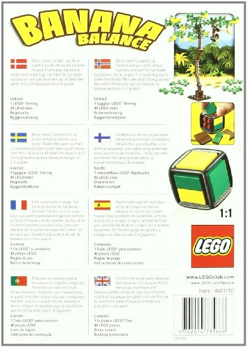 Imagen principal de LEGO Juegos Clásicos 3853 - Banana Balance (ref. 4611710)