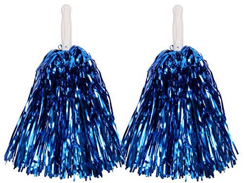mmer Pompom 1 Paar Cheerleader, Farbe wählen:blau ()