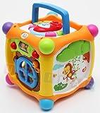 Farb-Multifunktionswürfel Interaktive bunten Musikwürfel, Musikalischer Würfel, Baby Würfel, Baby Activity Spielzeug Würfel mit Sound, Licht