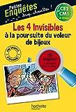 Les 4 Invisibles à la poursuite du voleur de bijoux - Cahier de vacances
