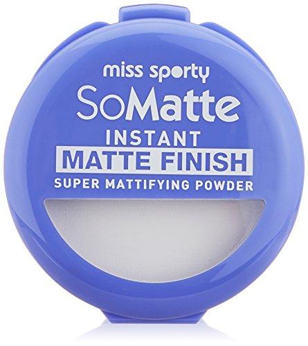 Miss Sporty So matte super opacizzante in polvere, 9.4g, trasparente