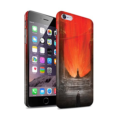 Offiziell Chris Cold Hülle / Glanz Snap-On Case für Apple iPhone 6+/Plus 5.5 / Pack 10pcs Muster / Dunkle Kunst Dämon Kollektion Hohe Königin