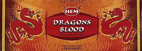 Dragons Blood-räucherstäbchen (HEM Incense Box - (6 pack = 120 sticks) ... (Dragon's Blood))