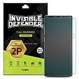Protecteur d'écran pour Samsung Galaxy Note 8 Invisible Defender [Couverture intégrale][2-Pack] Garantie de couverture incurvée bord à bord [Compatible avec Coque] Film HD Transparent Super mince