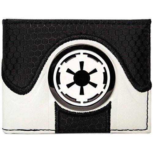 Emperor Kostüm Star Wars - Star Wars Galactic Reich Emblem Schwarz Portemonnaie Geldbörse