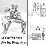 Yefun Action Figure Modèle, Mannequin Humain 2.0 Corps Kun Poupée Body Chan & Kun Doll Homme / Femme Action Figure DX Ensemble Jouets pour Dessin, Esquisse, Peinture