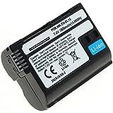 subtel® Batterie pour Nikon D750, D500, D600, D610, D800, D7000, D7100, D7200, 1 V1, MB-D12 - 1900mAh - Batterie de rechange Nikon EN-EL15, ENEL15, accu remplacement