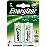 94,6L.- Express Ec086batterie Piles Alcalines, C (lot de 2)