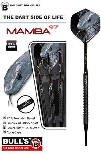 Unbekannt BULL'S Mamba-97 M3 Soft Dart Pfeile Simplex Schaft Powerflite 18g