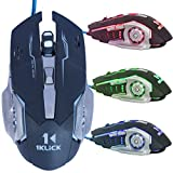#2: 1KLICK G7 Optical Gaming Mouse (Black)