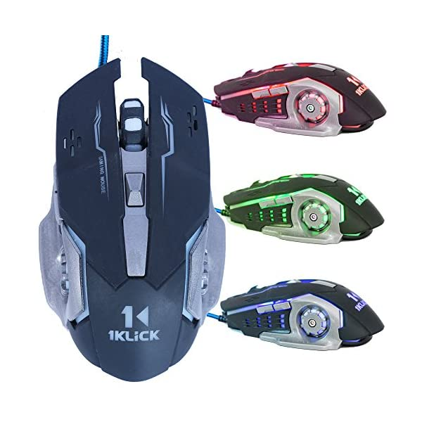 1KLICK G7 Optical Gaming Mouse (Black)
