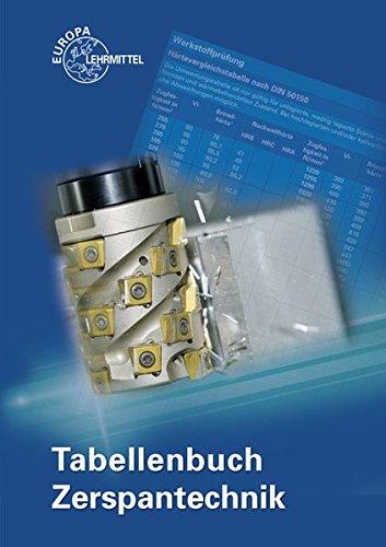 Tabellenbuch Zerspantechnik -
