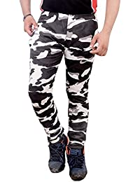 Men's Camouflage/Army/Military Print Track Pants - Lowers, Lower in Army Design for Gents, Boys gym