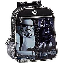 Star Wars 4232151 Mochila Preescolar, Color Negro