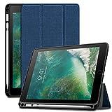con funzione Sleep//Wake automatica Nero Custodia per iPad in pelle PU 24,6 cm Basics