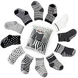 Future Founder 6er-pack Baby ABS Socken, Anti Rutsch Socken für 12-36 Monate Baby Mädchen und jungen