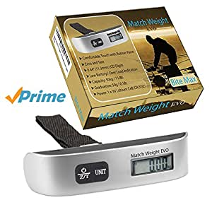 Match weight evo digital fishing weighing scales for Fish weight scale