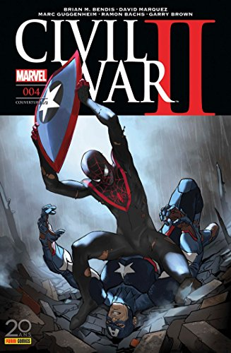Civil War II nº4 (couverture 1/2)