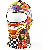 SODIAL Bunt Schaedel 3D Aktive Outdoor Sports Radfahren Motorrad Masken Skihaube Hut Schleier Sturmhaube UV Schuetzen Vollmaske BB18