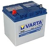 VARTA D48 Blue Dynamic / Autobatterie / Batterie 60Ah