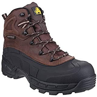 Amblers Mens FS430 Orca S3 Waterproof Safety Boots (10 UK) (Brown)