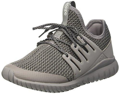 adidas  Tubular Radial J, chaussure de sport Unisexe - enfant Grigio (Chsogr/Dgsogr/Vinwht)