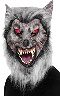 Smiffys Masque de loup rôdeur, Couvrant la tête, latex (B0033T32EQ) | Amazon Products