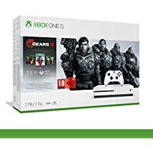 Xbox One S - 1TB Bundle Gears of War 5 - Inclusi Gears of War 2, 3, 4 + 14 Days Live Gold + 1 m Gamepass - Bundle - Xbox One