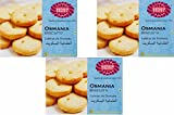 #1: Karachi Bakery Osmania Biscuits, 400g Pack of 3