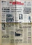 Telecharger Livres NOUVELLE REPUBLIQUE LA No 8035 du 18 02 1971 L AFFAIRE GILLES GUIOT LES PROTESTATIONS SE MULTIPLIENT RENE SIMON EST MORT PEUGEOT ACCORD SUR LES SALAIRES L AUTORITE DES MAGISTRATS M TOMASINI QUELQUES CHOSE DE DETRAQUE PAR GASCUEL LA REPONSE DE PARIS REMISE A ALGER LES JURES DU PROCES MANSON SONT LIBERES LES SOVIETIQUES MENACENT LA SECURITE DE L OCCIDENT (PDF,EPUB,MOBI) gratuits en Francaise