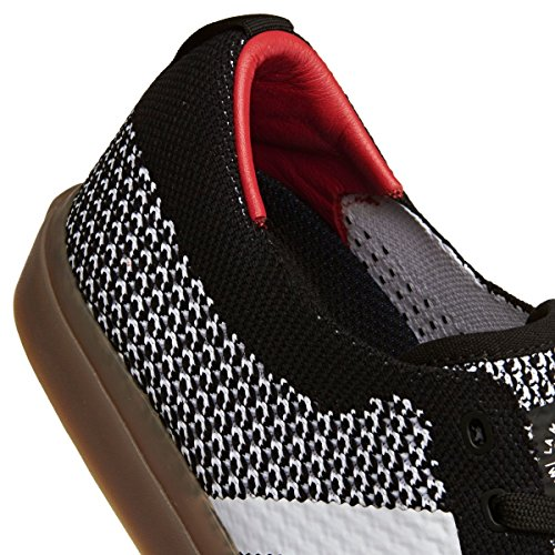 adidas Matchcourt PK, Chaussures de Skateboard Homme, Noir Multicolore - Noir/blanc (Negbas / Ftwbla / Gum4)