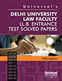 The book covers Delhi University Law Faculty LL. B. entrance test solved papers- 2008-16.