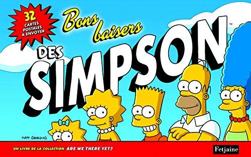 Bons baisers des Simpson. 32 cartes postales à envoyer