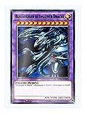 DPRP-DE025 Blauäugiger ultimativer Drache 1. Auflage im Set mit original Gwindi Kartenschutzhülle