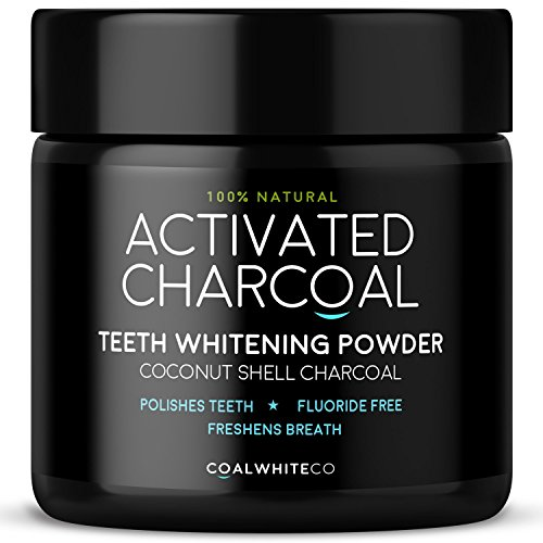Activated Charcoal Natural Teeth Whitening Powder Peppermint Flavour by Coal White Co	 Test