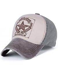 Llxln Moda Unisex Hombres Mujeres Gorra De Béisbol De Algodón Hat Snapback Caps  Hip Hop Casual 258f29be116