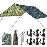 kimfrXD Multifonctionnel hamac Tente Parasol Plage imperméable à l'eau Couverture...