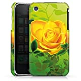 DeinDesign Apple iPhone 3Gs Coque Étui Housse Roses jaunes