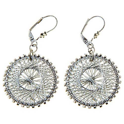 Sitara Collections SC5551 Amiti Zari Thread Earrings by Sitara Collections Zari Thread