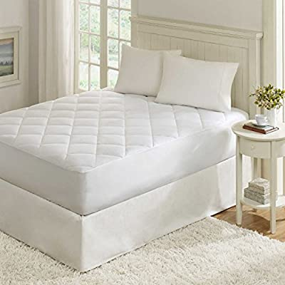 """Luxury Extra Deep Quilted Fitted Mattress Protector 40cm (16"""" approx)"""