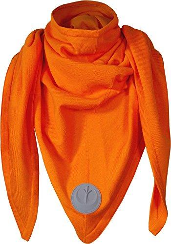 ebel Schal in Orange aus 53% Baumwolle 47% Acryl Orange (Lea Star Wars)