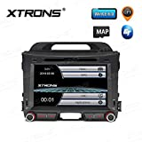 XTRONS 8 Inch Car Stereo Radio In-Dash DVD Player HD Touch Screen Vehicle