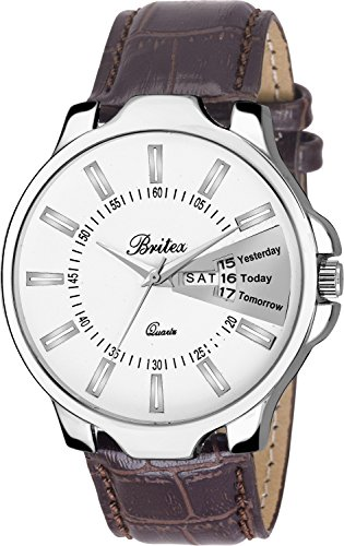 Britex Day and Date Functioning Series Analog Watch For Men/Boys - (BT7017)