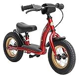 BIKESTAR Vélo Draisienne Enfants pour Garcons et Filles de 2-3 Ans  Vélo sans pédales évolutive 10 Pouces Classique  Rouge