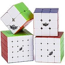 Vdealen Cyclone Boys 2x2x2,3x3x3,4x4x4,5x5x5 Cubo Magico Inteligencia magic cube Juego de Puzzle cube