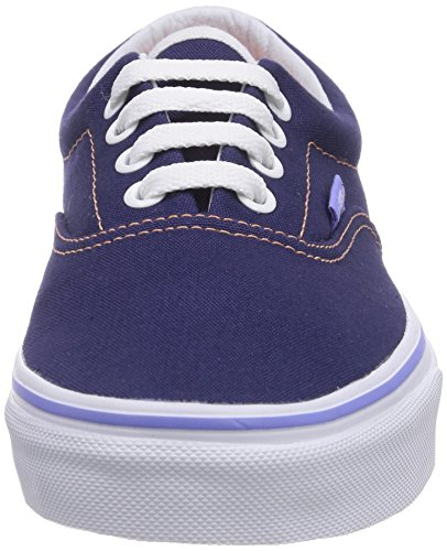 Vans U Era , Baskets mode mixte adulte Bleu (Patriot Blue/Melon)